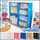 コミック専用本棚 【コミコミ】 ブルー - 縮小画像1