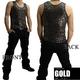Luxury Black(ラグジュアリーブラック) スターUネックタンクトップ GLD(ゴールド) Sサイズ - 縮小画像2