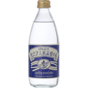 aWa心水 奥会津天然炭酸の水 ビン・330ml×24本 【箱買い】 - 拡大画像
