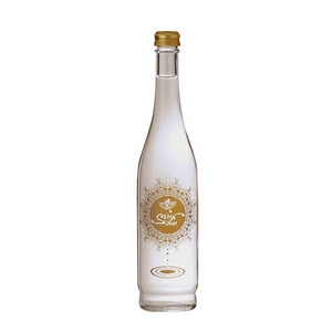 aWa心水 瓶・500ml×12本 (奥会津産天然炭酸水) 【箱買い】 - 拡大画像