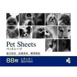 KPG(ケーピージー) ペットシーツ レギュラー88枚 (犬用ペットシーツ) 【ペット用品】 - 拡大画像
