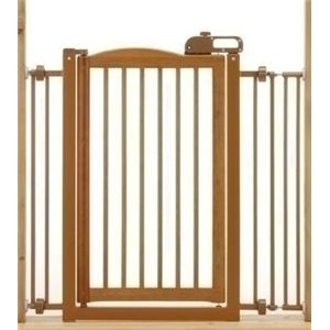 Richell(リッチェル) ペット用木製ワンタッチゲート (犬用ゲート) 【ペット用品】 - 拡大画像