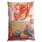 三晃商会 ウッド・リター 7L (ウサギ・フェレット・モルモット用トイレ砂) 【ペット用品】