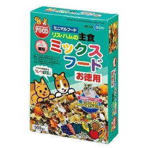 マルカン リス・ハムの主食ミックスフードお徳用 500g MR-544【ペット用品】 - 拡大画像
