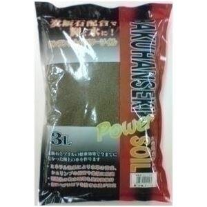 ソネケミファ 麦飯石パワーソイル 小粒 茶 3L【ペット用品】【水槽用品】 - 拡大画像