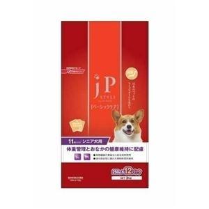 日清ペットフード JPスタイル ベーシックケア 11歳以上のシニア犬用 3kg 【犬用・フード】 【ペット用品】 - 拡大画像