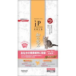 日清ペットフード JPスタイルゴールド 離乳期〜1歳までの幼猫用 700g 【ペット用品】 - 拡大画像