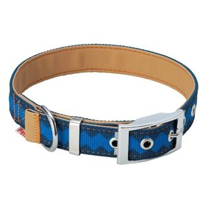 ヤマヒサ BASIC PLUS ロンバスカラー L ブルー 【首輪】【ペット用品】 - 拡大画像