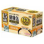 (まとめ)アイシア 15歳からの健康缶ささみとまぐろ40g×6P 【猫用・フード】【ペット用品】【×12セット】