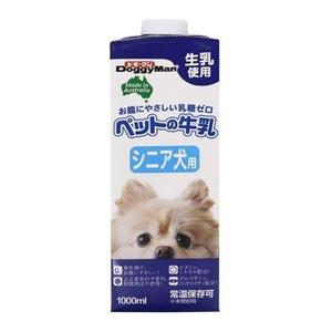 (まとめ)ドギーマンハヤシ ペットの牛乳 シニア犬用 1000ml【犬用・フード】【ペット用品】【×10セット】 - 拡大画像
