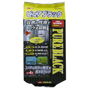 ジェックス GEX ピュアブラック 4L 【水槽用品】 【ペット用品】 - 拡大画像