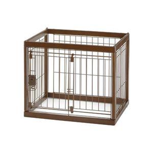 リッチェル 木製ペットサークル60-50 【ペット用品】 - 拡大画像