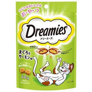 (まとめ) DRE7 ドリーミーズまぐろサーモン味60g 【猫用フード】【ペット用品】 【×36セット】 - 拡大画像