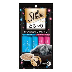 (まとめ) SMT11シーバメルティかつお味12g×4P 【猫用フード】【ペット用品】 【×48セット】 - 拡大画像