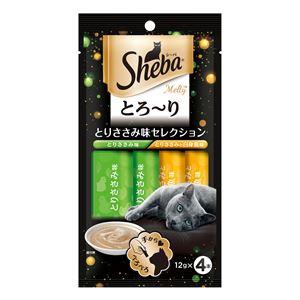 (まとめ) SMT12シーバメルティささみ味12g×4P 【猫用フード】【ペット用品】 【×48セット】 - 拡大画像