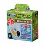 ジェックス株式会社 ピュアクリスタル軟水化フィルター4P 【犬用】 【ペット用品】