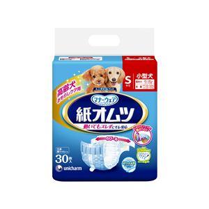 (まとめ)ペット用紙オムツ Sサイズ 30枚【×8セット】【ペット用品・犬用】