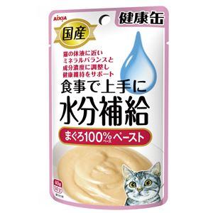 (まとめ)国産 健康缶パウチ 水分補給 まぐろペースト 40g【×48セット】【ペット用品・猫用フード】 - 拡大画像