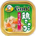 (まとめ)ビタワン グー 鶏ささみ さつまいも 100g【×96セット】【ペット用品・犬用フード】