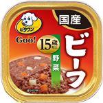 (まとめ)ビタワン グー ビーフ 野菜 15歳以上 90g【×96セット】【ペット用品・犬用フード】