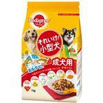 (まとめ)ペディグリー それいけ!小型犬 チキン入り 1kg【×12セット】【ペット用品・犬用フード】