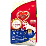 (まとめ)ビューティープロ ドッグ 成犬用 1歳から 2.5kg【×4セット】【犬用フード/ペット用品】