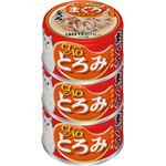 (まとめ)CIAO とろみ ささみ・まぐろ ホタテ味 3缶 (ペット用品・猫フード)【×15セット】