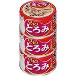 (まとめ)CIAO とろみ ささみ・まぐろ カツオ節入り 3缶 (ペット用品・猫フード)【×15セット】
