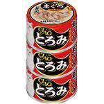 (まとめ)CIAO とろみ ささみ・まぐろ カニカマ入り 3缶 (ペット用品・猫フード)【×15セット】