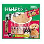 (まとめ)ちゅーる20本総合笹身ビーフM14g20本 (ペット用品・犬フード)【×16セット】