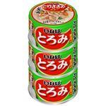 (まとめ)いなば とろみ とりささみ・野菜入り3缶 (ペット用品・犬フード)【×15セット】