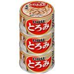 (まとめ)いなば とろみ とりささみ3缶 (ペット用品・犬フード)【×15セット】