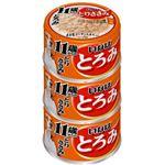 (まとめ)いなば とろみ 11歳からのとりささみ3缶 (ペット用品・犬フード)【×15セット】