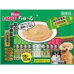 (まとめ)いなば ちゅ〜る 総合栄養食バラエティ 14g×40本 (ペット用品・犬フード)【×8セット】
