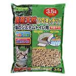 (まとめ)クリーンミュウ 国産天然ひのきのチップ 3.5L(ペット用品)【×8セット】