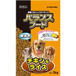 (まとめ)ペットプロバランスフード チキン&ライス 3kg(ペット用品・犬フード)【×4セット】