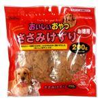 (まとめ)ペットプロおいしいおやつ ささみけずり お徳用 200g(100g×2袋)(ペット用品・犬フード)【×20セット】