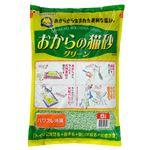(まとめ)常陸化工 ON-g6 おからの猫砂グリーン 6L(ペット用品)【×4セット】