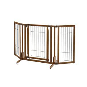 木製おくだけドア付ペットゲートH レギュラー (ペット用品) - 拡大画像