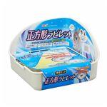 (まとめ)ヒノキア 正方形ラビレット消臭セット ミルキーホワイト【×4セット】
