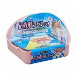 (まとめ)ヒノキア 正方形ラビレット消臭セット ベビーピンク【×4セット】