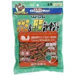 (まとめ)ドギーマンヘルシーエクセルササミ&野菜ジャーキーフード 400g【×12セット】
