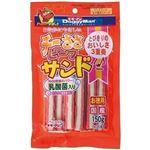 (まとめ)ドギーマンチーささビーフサンド乳酸菌入 150g(約28本)【×12セット】