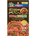(まとめ)ドギーマンドギースナックバリューササミと緑黄色野菜 80g【×30セット】