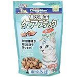 (まとめ)キャティーマン猫の毛玉ケアスナック まぐろ味 お徳用 130g【×12セット】