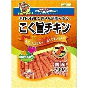 (まとめ)ドギーマンこく旨チキン 緑黄色野菜入 700g(350g×2袋)【×12セット】 - 拡大画像