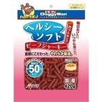 (まとめ)ドギーマンヘルシーソフトビーフジャーキー カットタイプ 420g【×24セット】