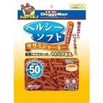 (まとめ)ドギーマンヘルシーソフトササミジャーキー カットタイプ 420g【×24セット】