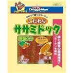 (まとめ)ドギーマンこだわり ササミドック 野菜入 9本【×6セット】