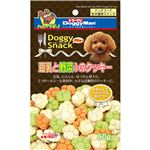 (まとめ)ドギーマンドギースナックバリュー 豆乳と野菜入のクッキー 60g【×30セット】